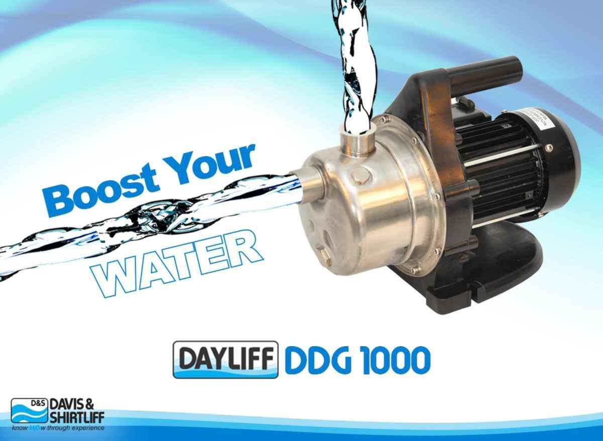 Dayliff DDG 1000 Water Booster Pump