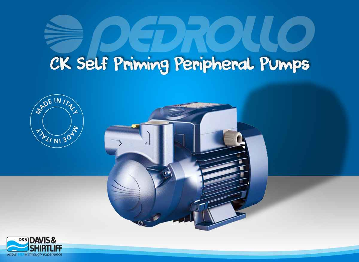 Dayliff Pedrollo Water Pump (CK Self Priming Peripheral Pump)