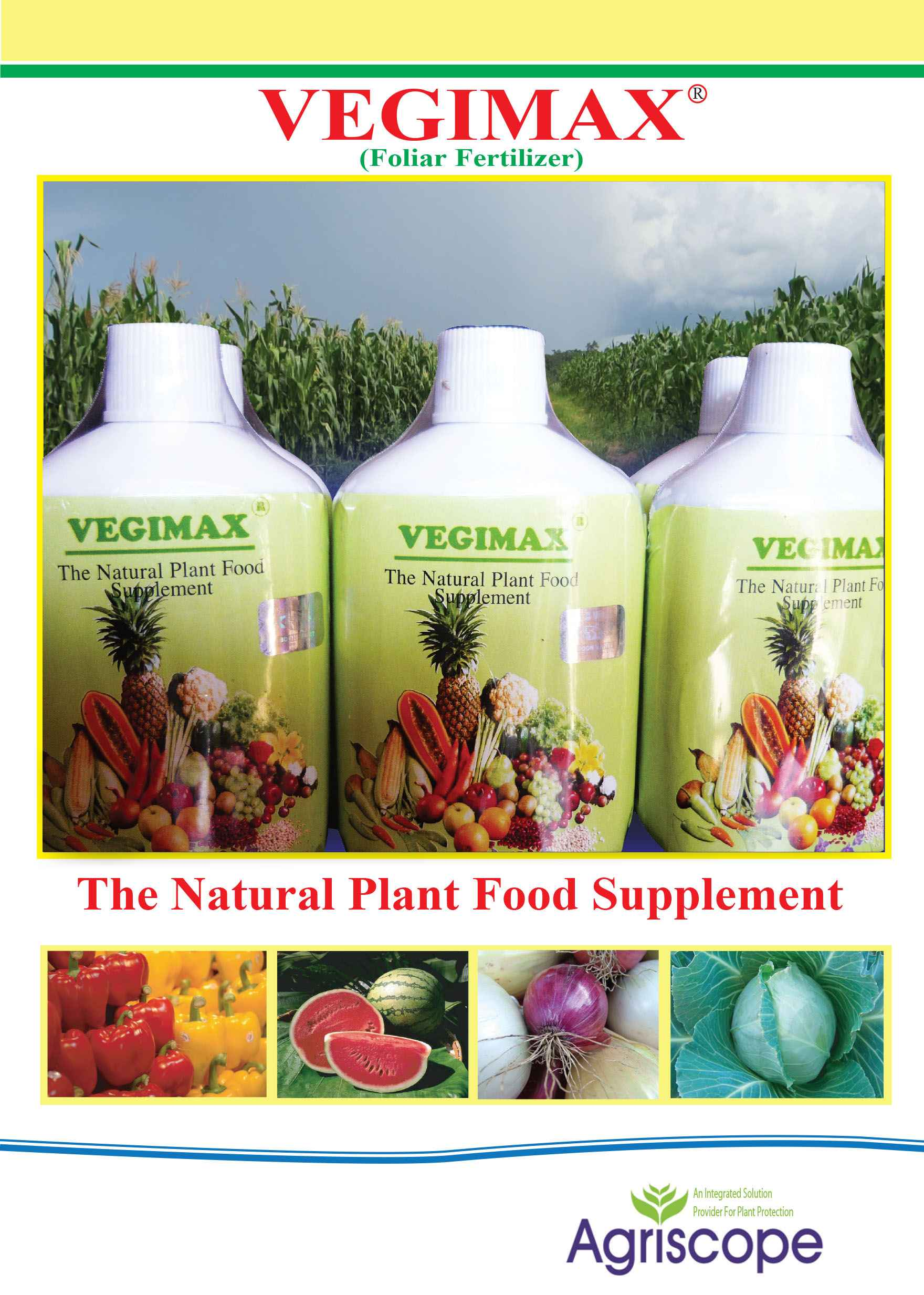 VEGIMAX fertilizer (250ml)
