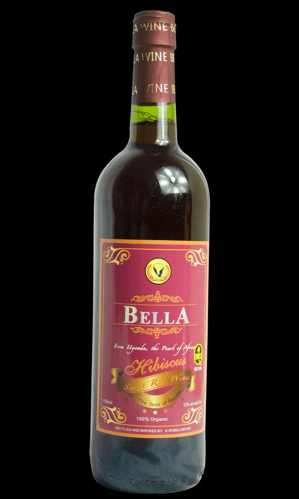 Bella Hibiscus Sweet Red Wine (330 ml)