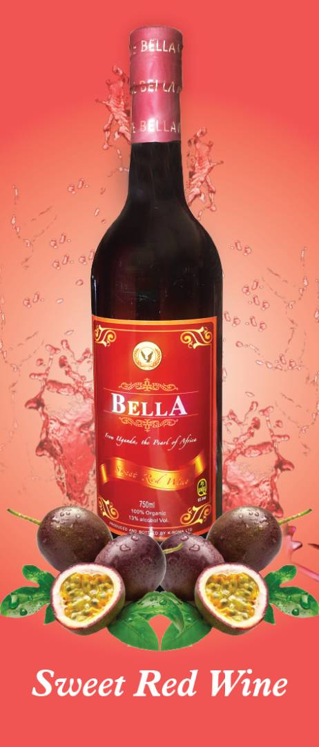 Bella Passion Sweet Red Wine (330 ml)