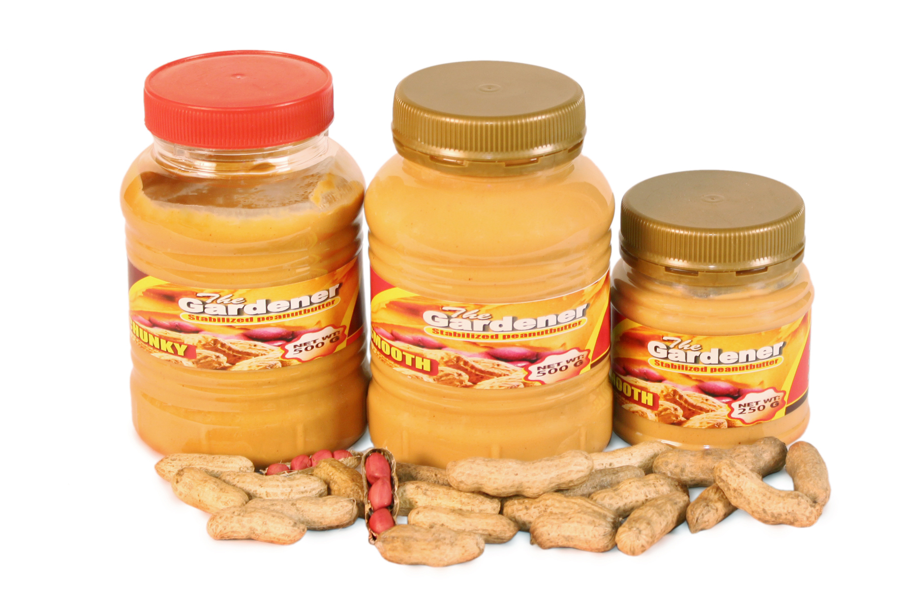 The Gardener Peanut Butter (500 gm)