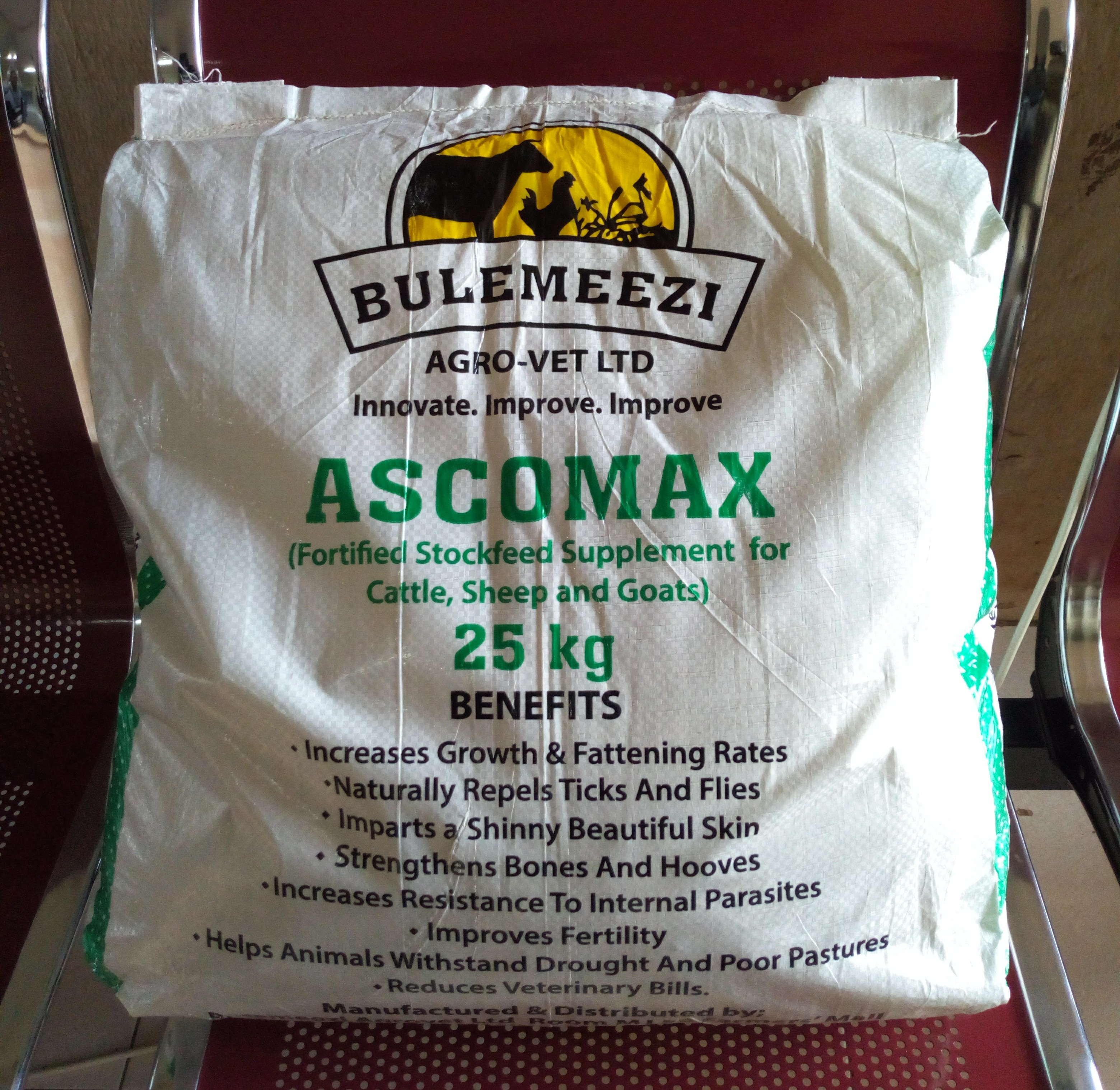 Ascomax (Fortified Stockfeed Supplement )