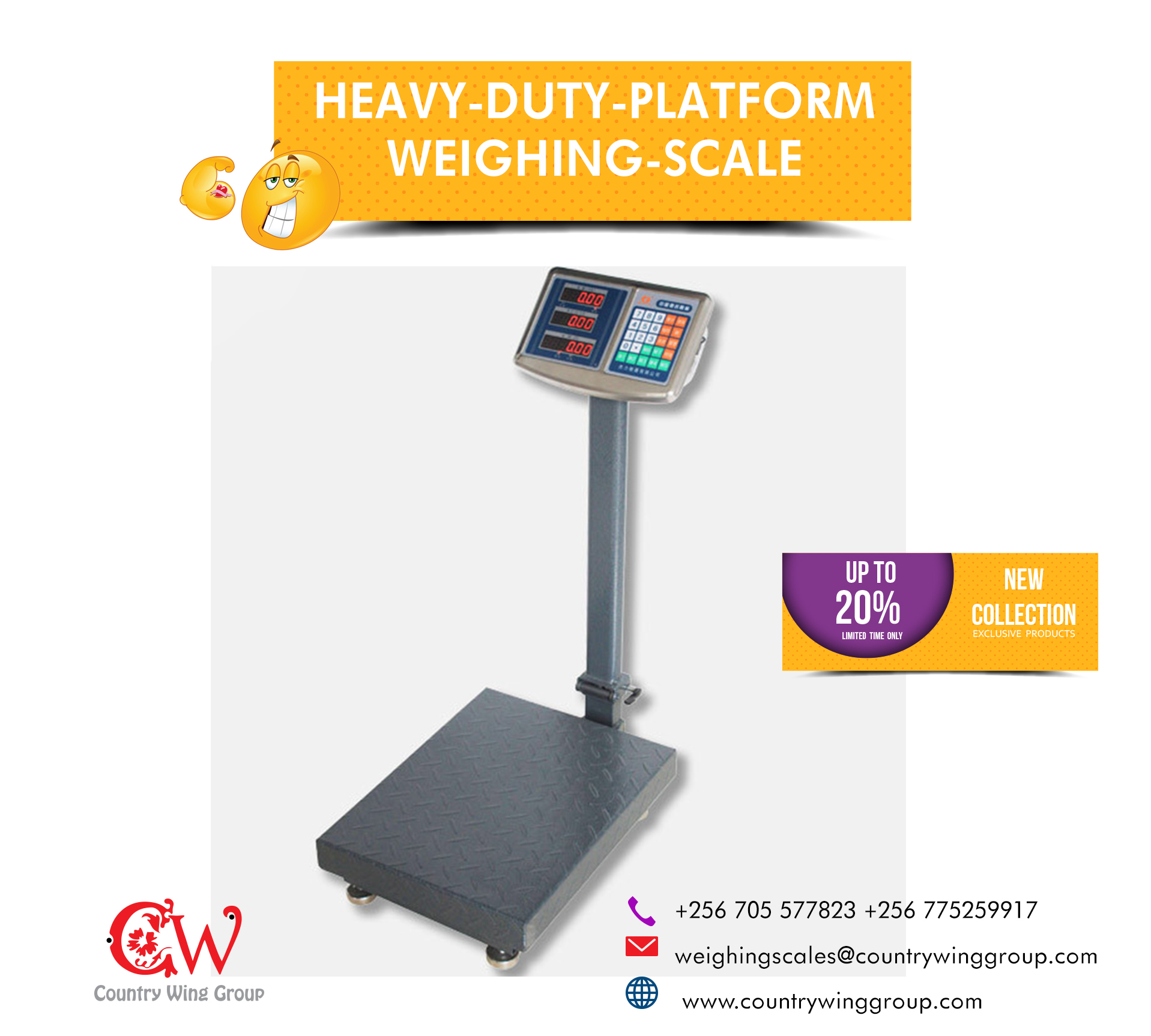Mechanical Crane Weighing Scales