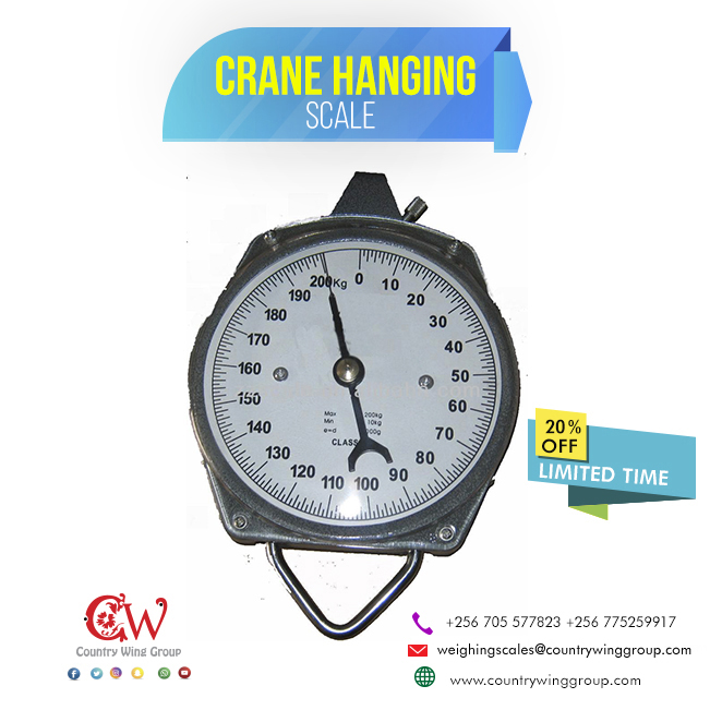 Crane/ Hanging scale, Salter(light Duty),200kg