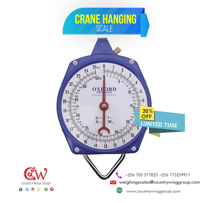 Crane/ Hanging scale, Double face, 200kg