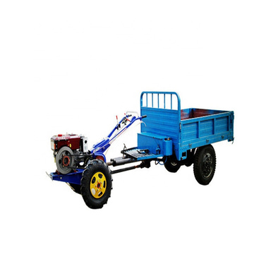 Trailer for walking hand tractor