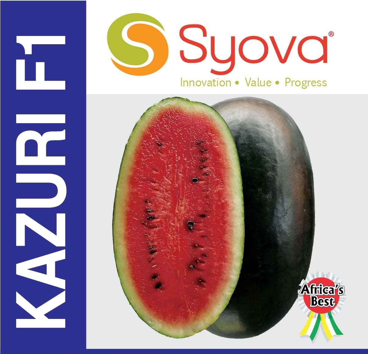 KAZURI F1 watermelon seeds (250gm)