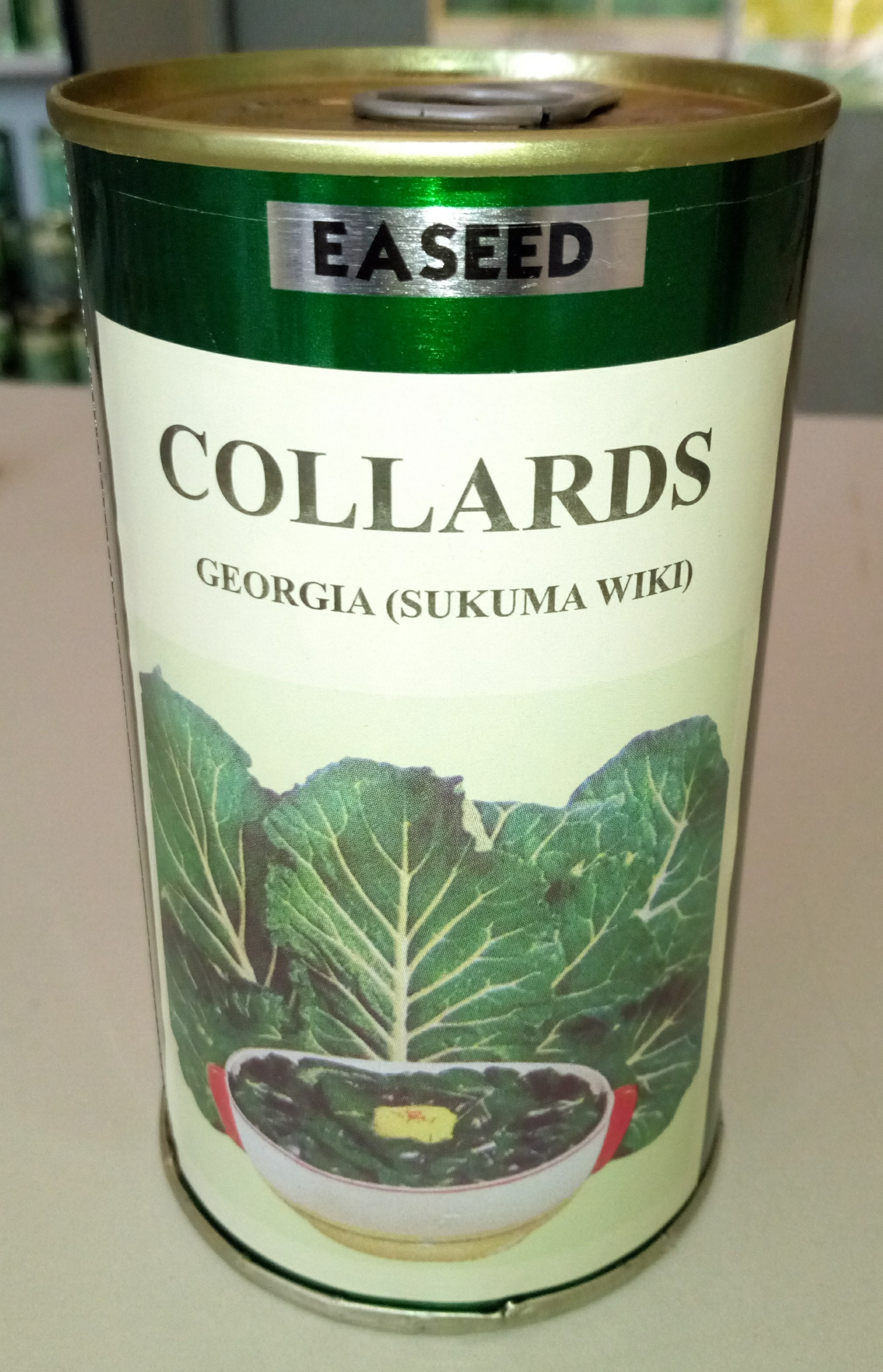 Georgia Collards Seeds (Sukuma Wiki)