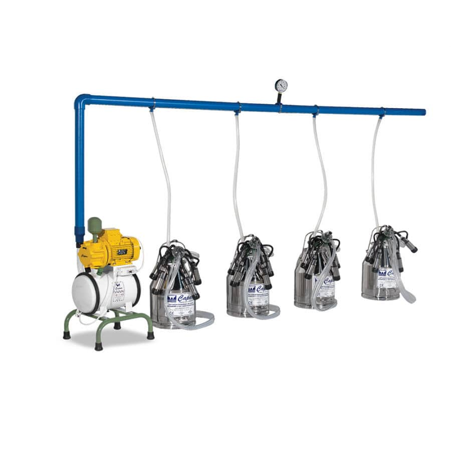 Fixed Line Milking System