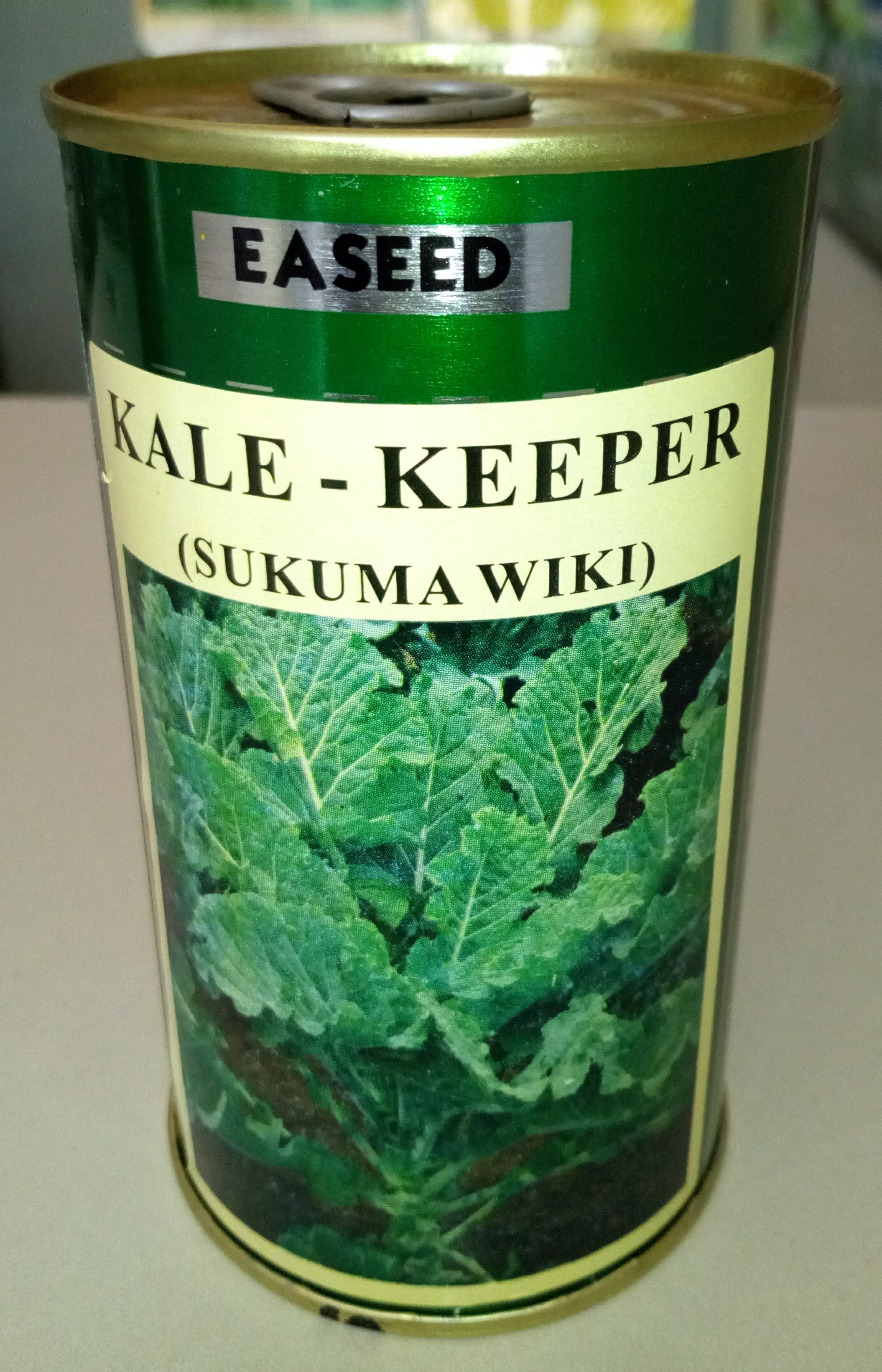 KALE KEEPER Collards Seeds (Sukuma Wiki)