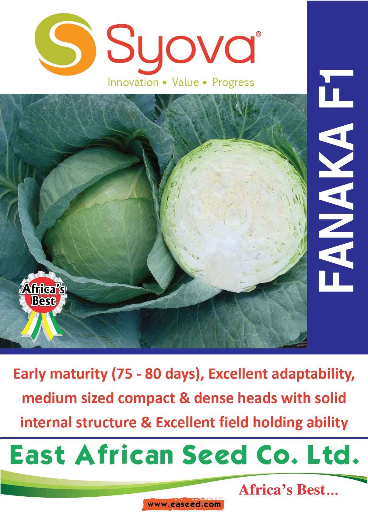 FANAKA F1 Cabbage Seeds