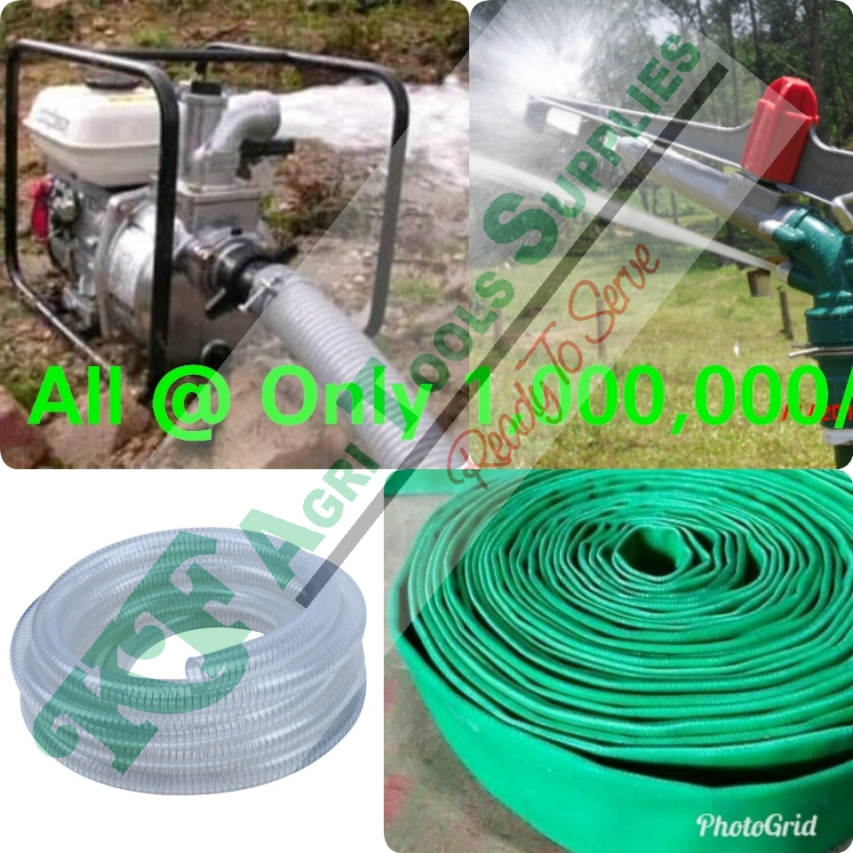 Irrigation system for one Acre