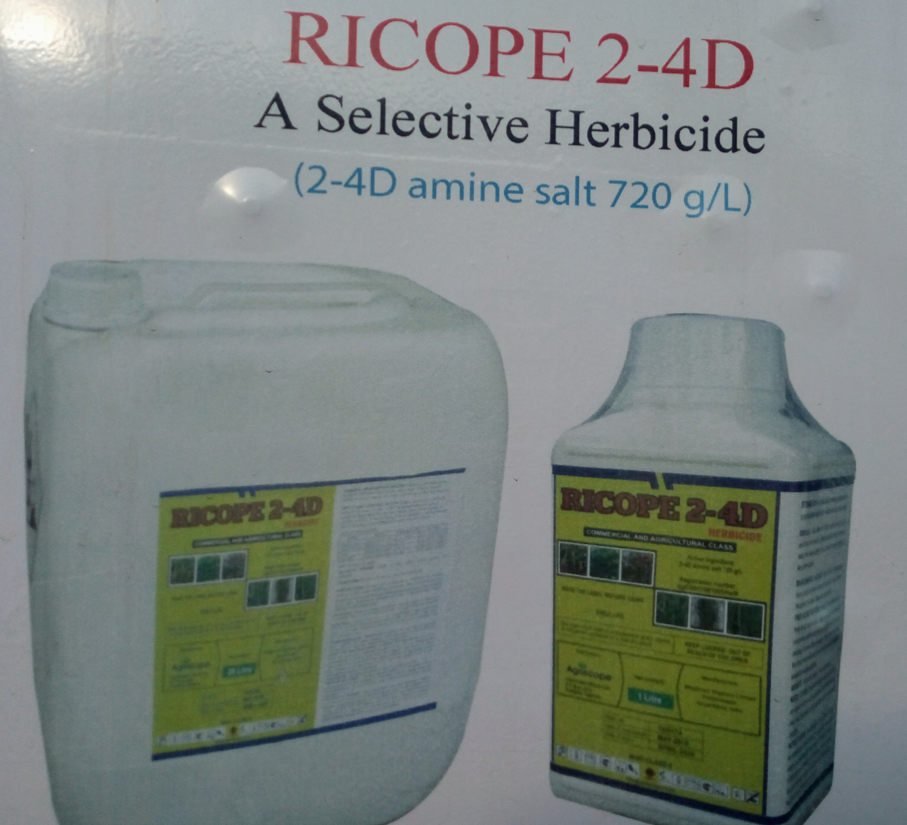RICOPE 24D AMINE Herbicide (20L)