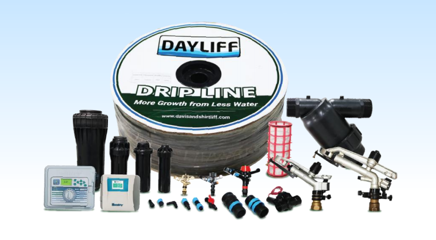 DAYLIFF 1  HECTARE TOMATO DRIP IRRIGATION KIT (100M*100M) - 1200MM