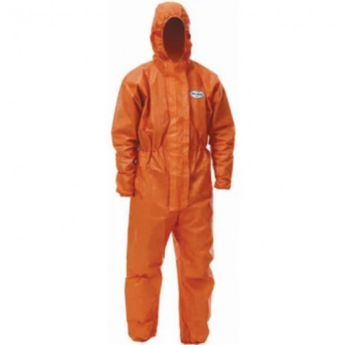 Chemical safety spraying suit