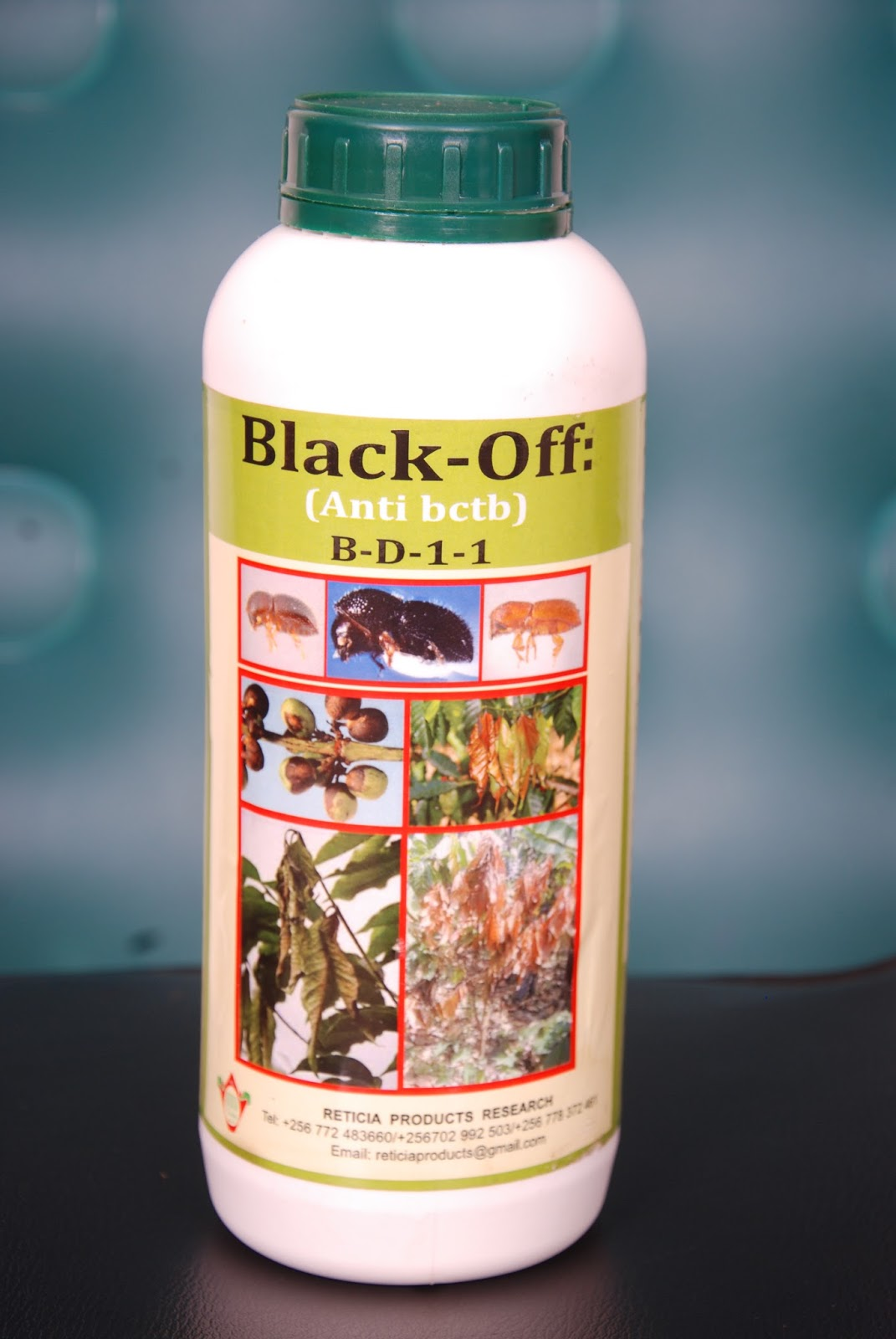 Black Off Bio Organic 3 in 1 Pesticide, Fertilizer and Fungicide (1L)